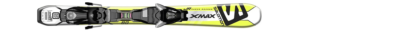 X-Max Jr XS White/Green (70-90) + Ezytrak 5