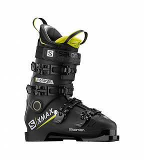 X Max 110 Sport Black/Acid Green